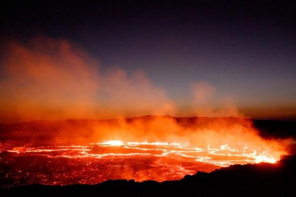 Erta Ale Volcano Danakil