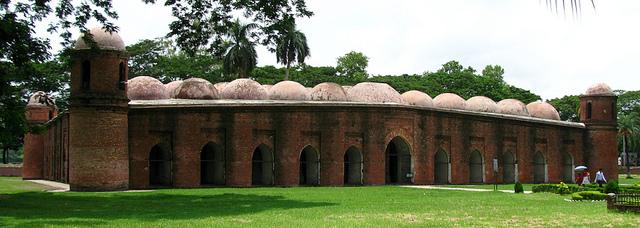 Bagerhat Bangladesh Shait Gumbat Mosque