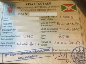 Burundi Visa