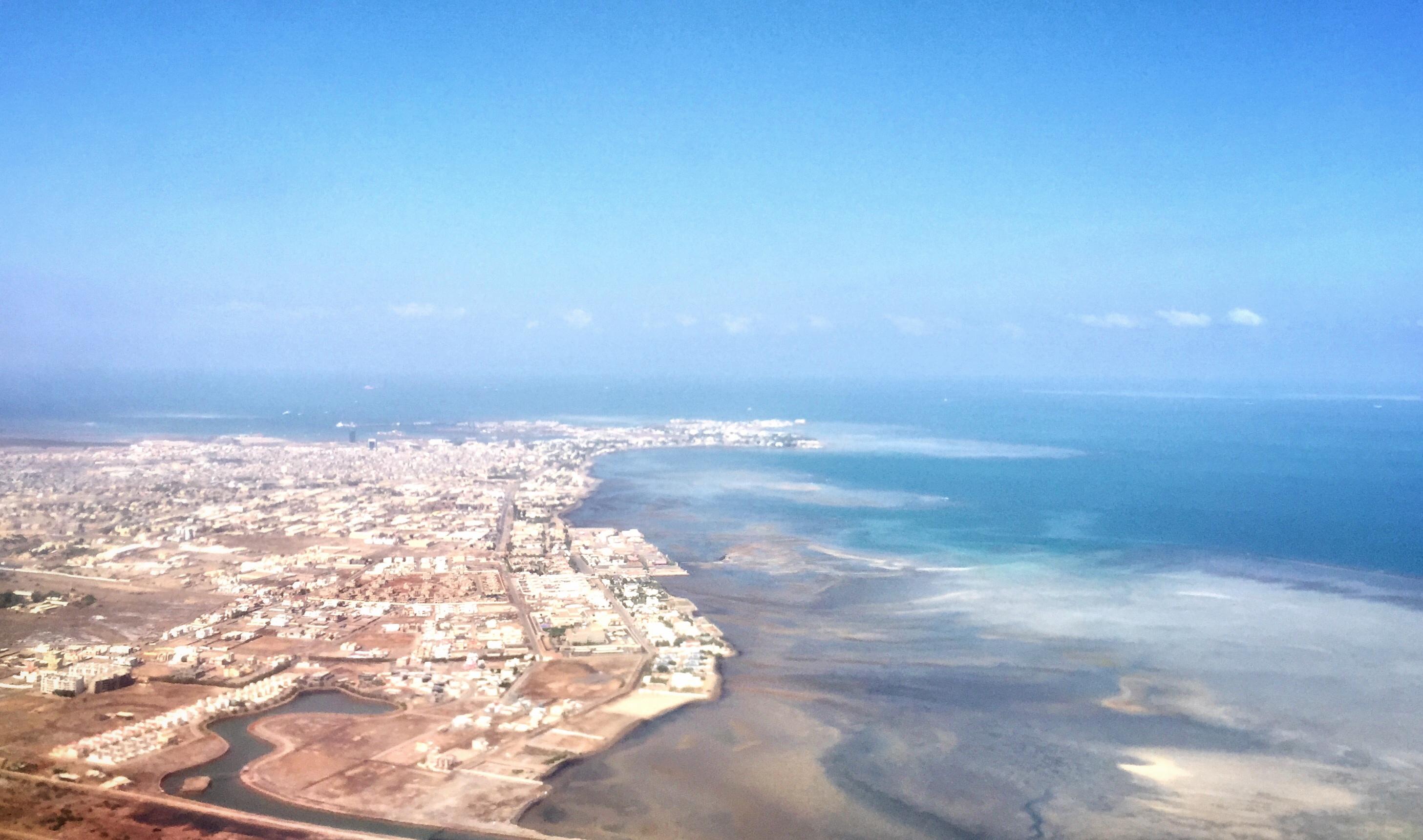Djibouti City Air Landing travelling to Djibouti