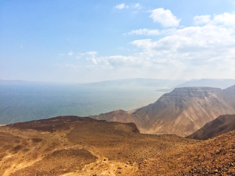 Djibouti Landscape Traveling