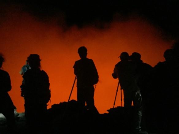 Erta Ale volcano crater Danakil Depression
