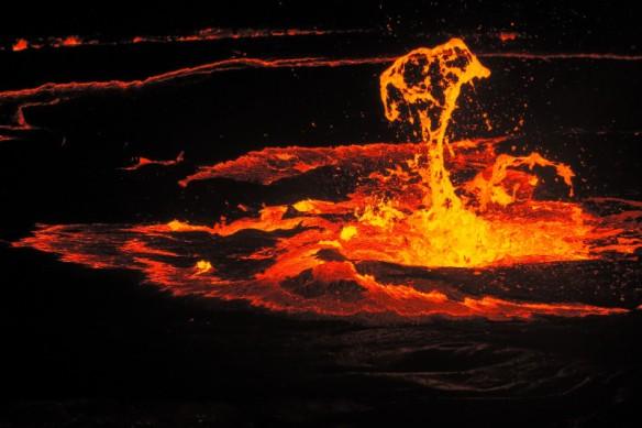 Erta Ale Volcano Danakil Depression