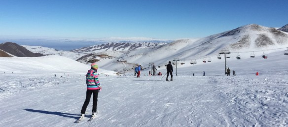 Chunkurchak Ski Resort near Bishkek