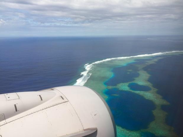 Landing in Majuro