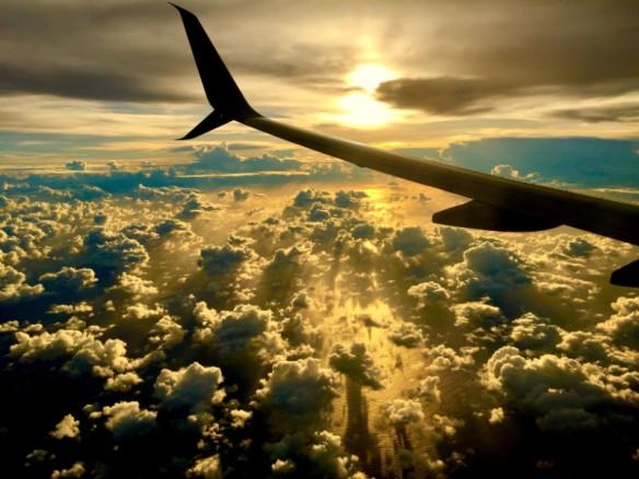 Landing Majuro Around the world in 8 days