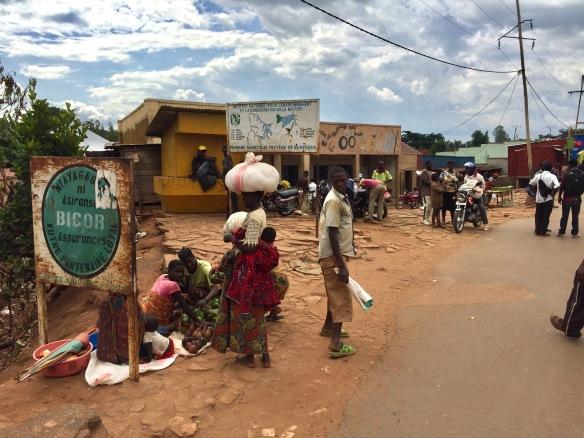 Street Scene Kirundo - Burundi Travel Blog