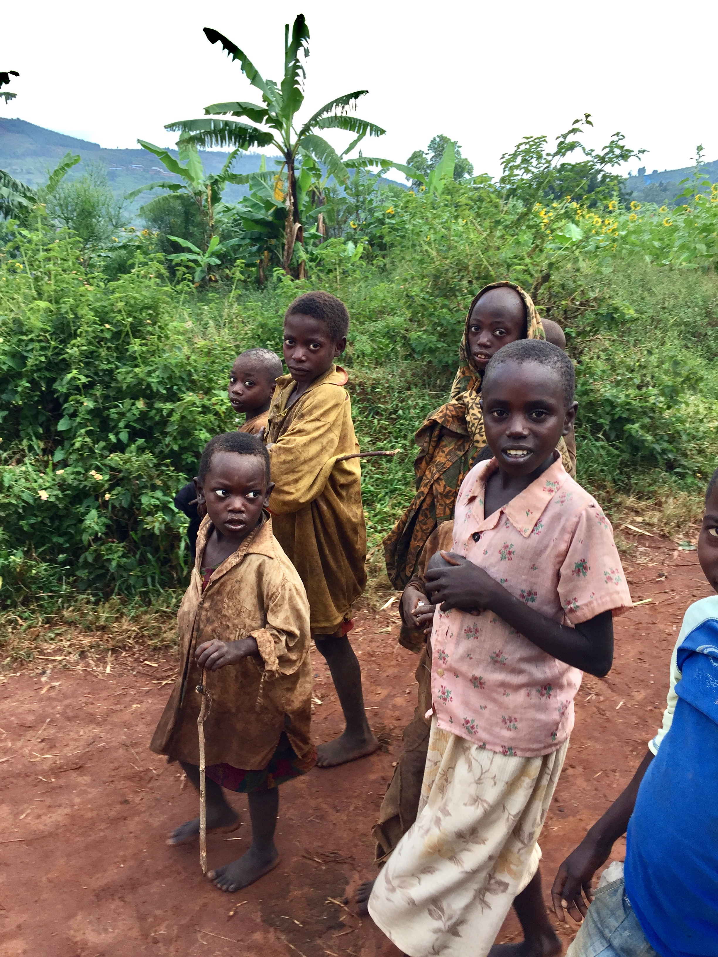 Children in Kirundo Africa - Burundi Travel Blog