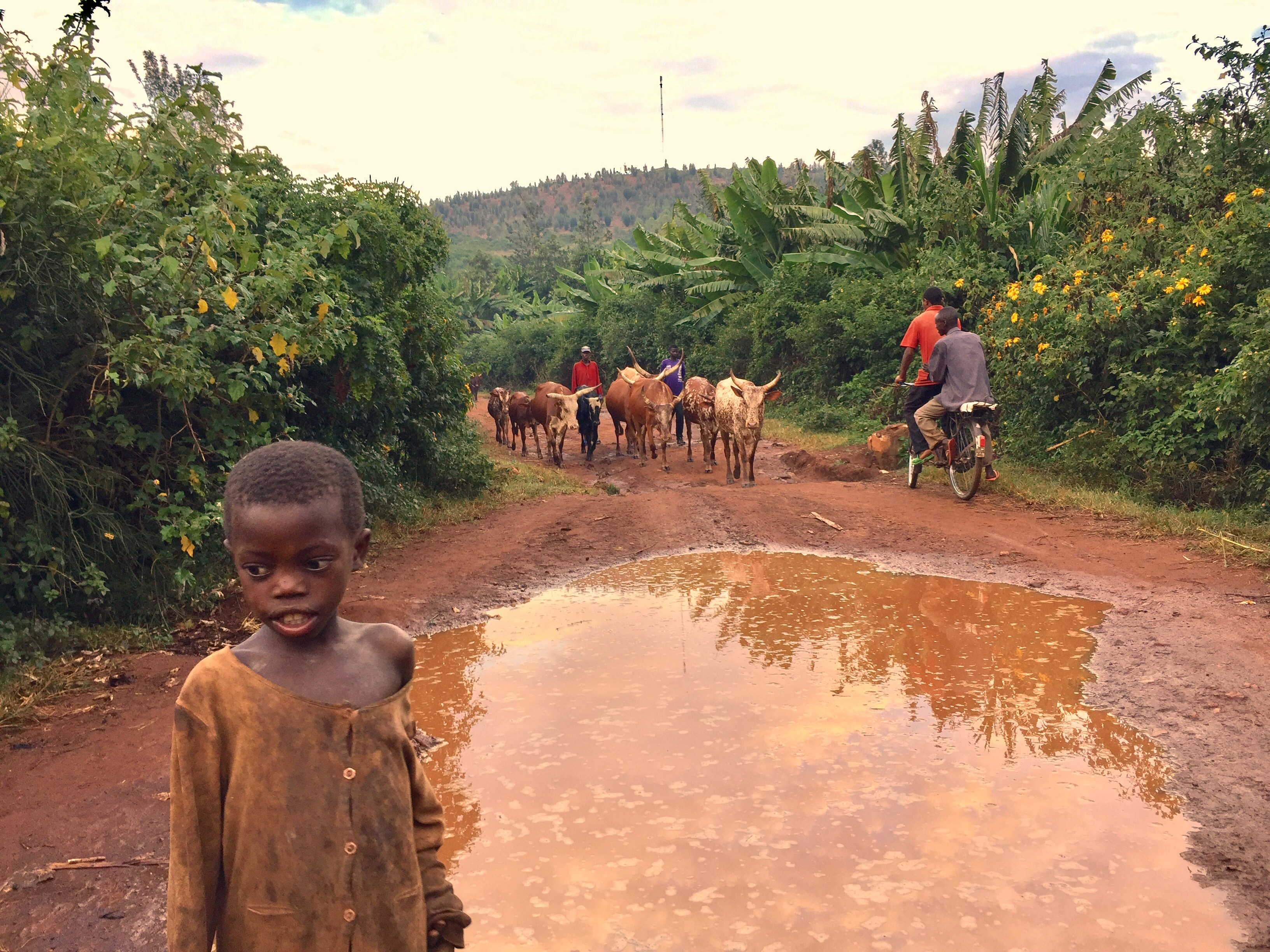 Poor Child in Northern Burundi - Burundi Travel Blog