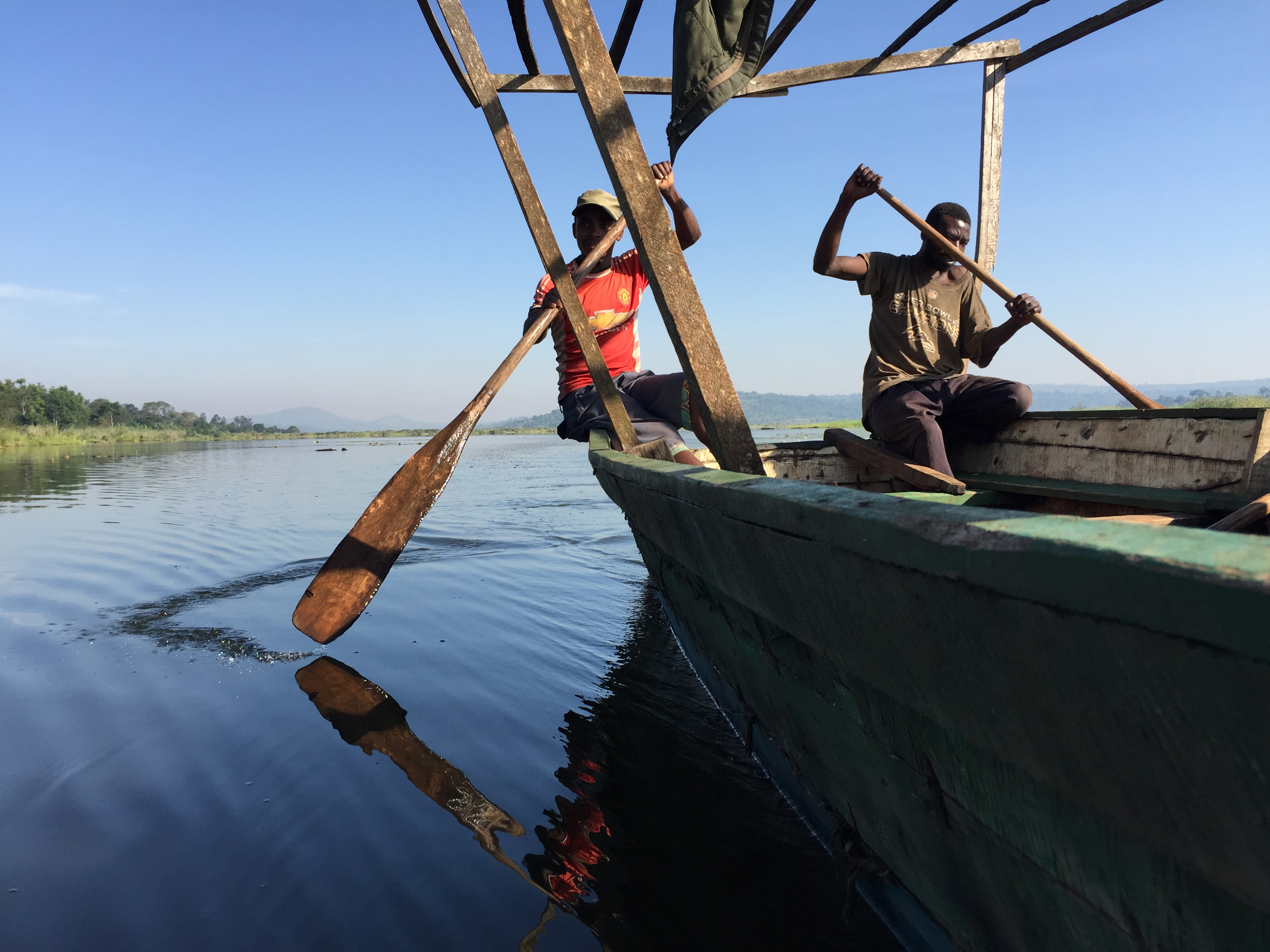 Boat Tour at Lac Rwihinda