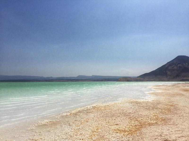 Lac Assal Travelling to Djibouti Salt Lake