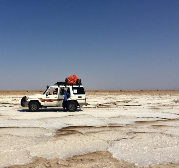 Lake Karum Jeep Danakil Depression