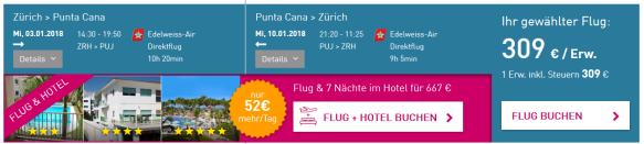 Zurich Punta Cana Cheap Flight
