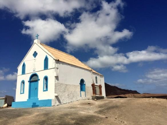 Church in Sal Cape Verde