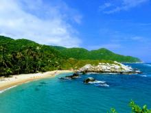 Caribbean coast of Colombia in two weeks Parque Tayrona national park, Colombia